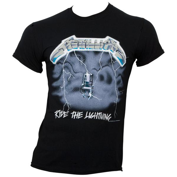 Metallica - T- Shirt Ride The Lightning - schwarz