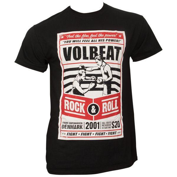 Volbeat - T-Shirt - Feel the power - schwarz