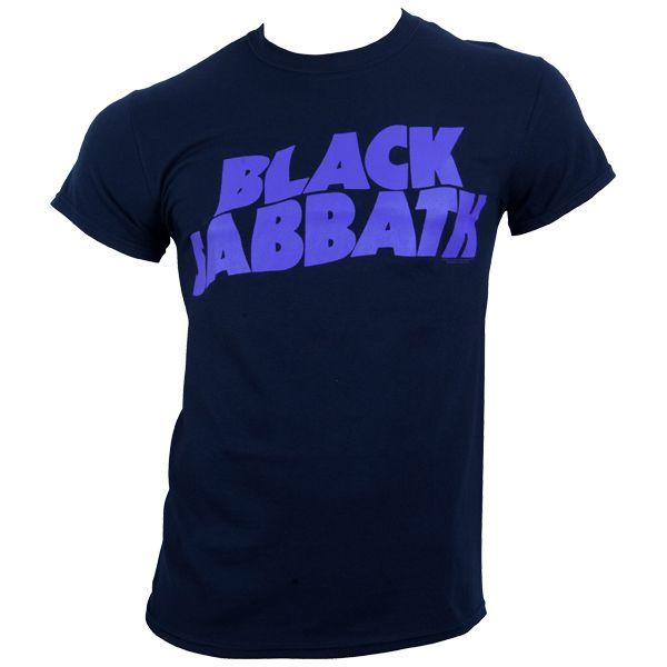 Black Sabbath - T-Shirt Logo - schwarz