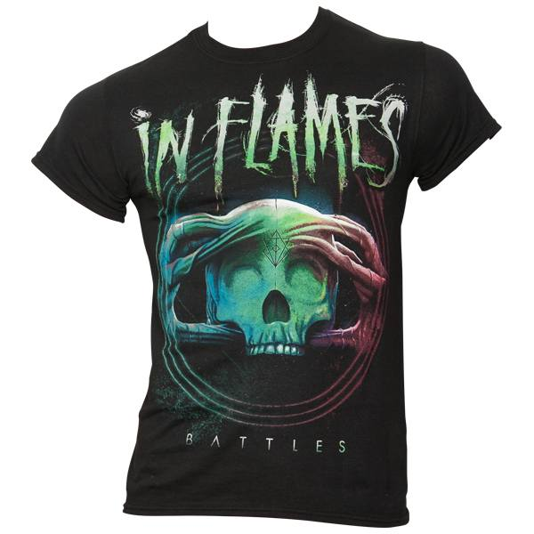 In Flames - T-Shirt Battles Circle - schwarz