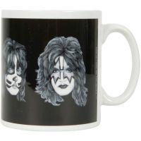 KISS - Kaffeebecher Faces - weiß