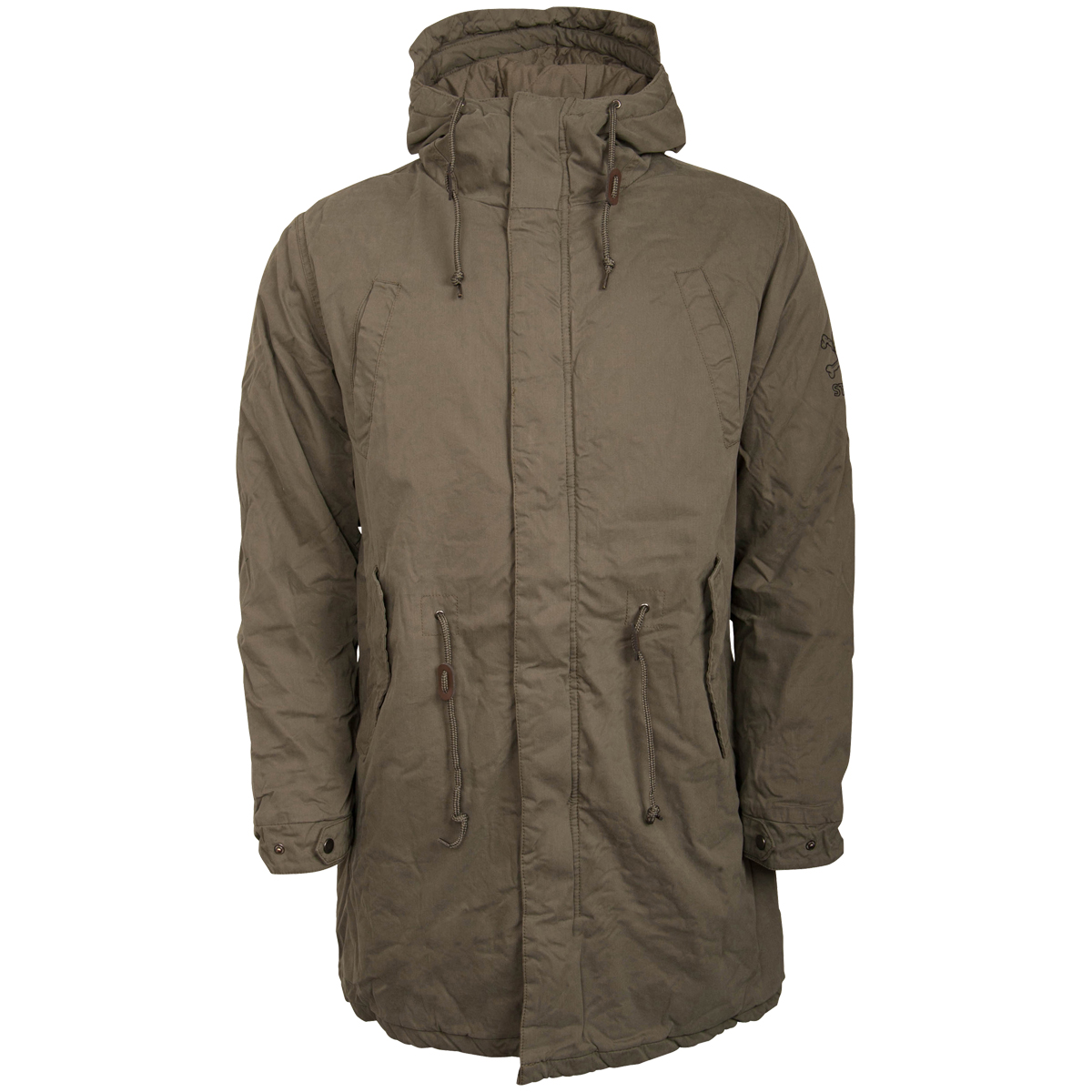 finest selection 84dd7 c6b1e FC St. Pauli - Winter Parka - olive
