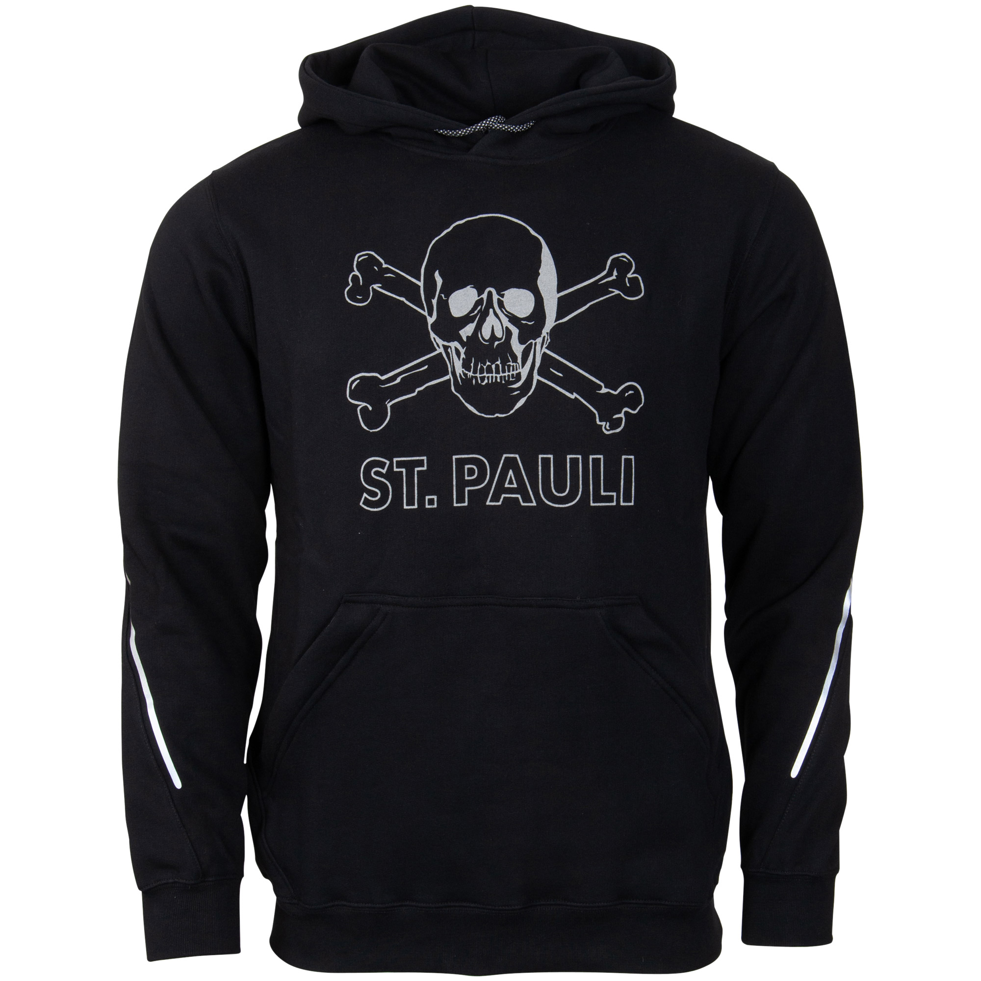 FC St. Pauli - Kapuzenpullover Sport Reflective - schwarz