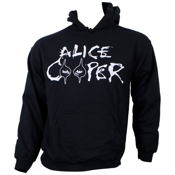 Alice Cooper - Kapuzenpullover Eyes Logo - schwarz