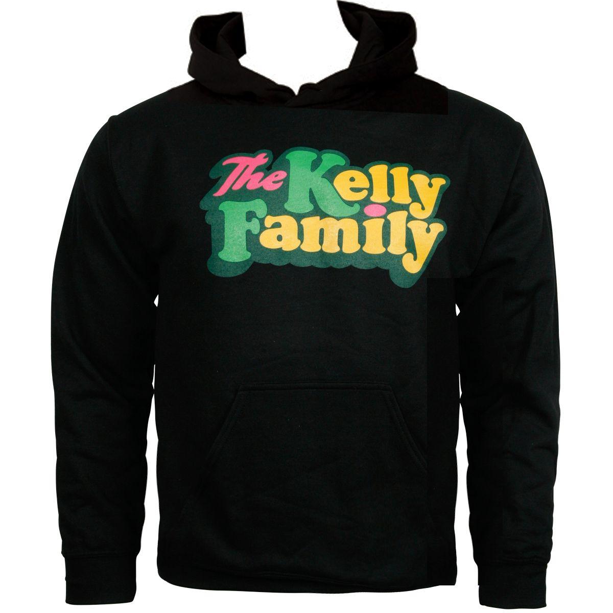 The Kelly Family - Kapuzenpullover Logo - schwarz