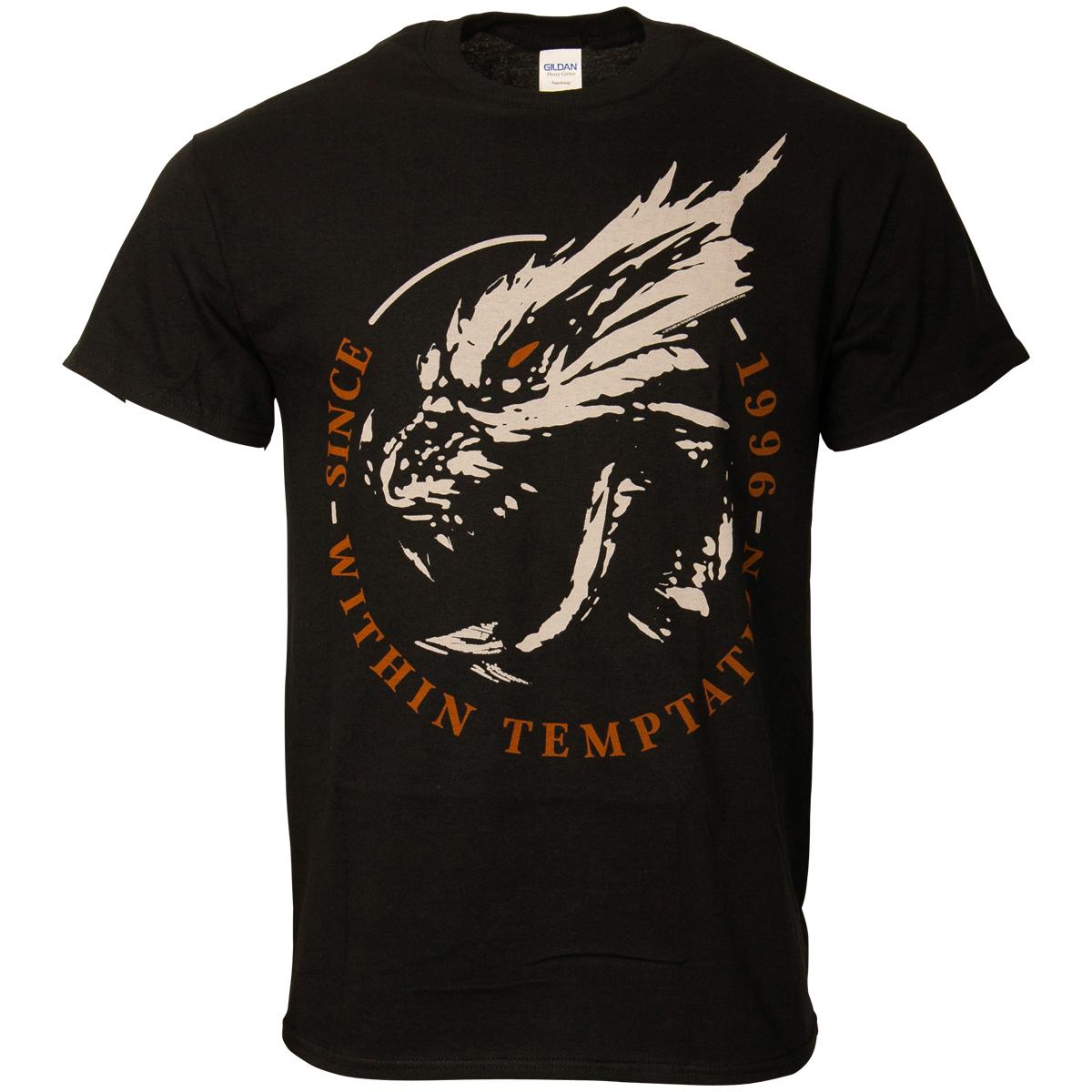 Within Temptation - T-Shirt Dragon 1996 - schwarz
