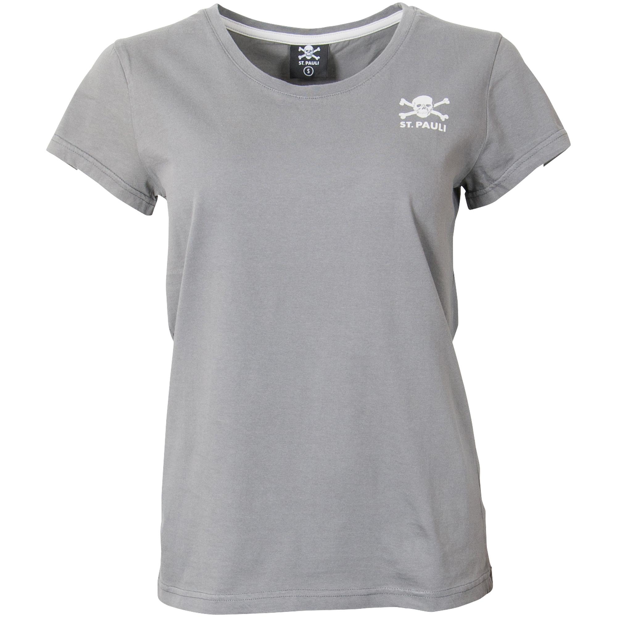 FC St. Pauli - Damen T-Shirt FCSP - grau
