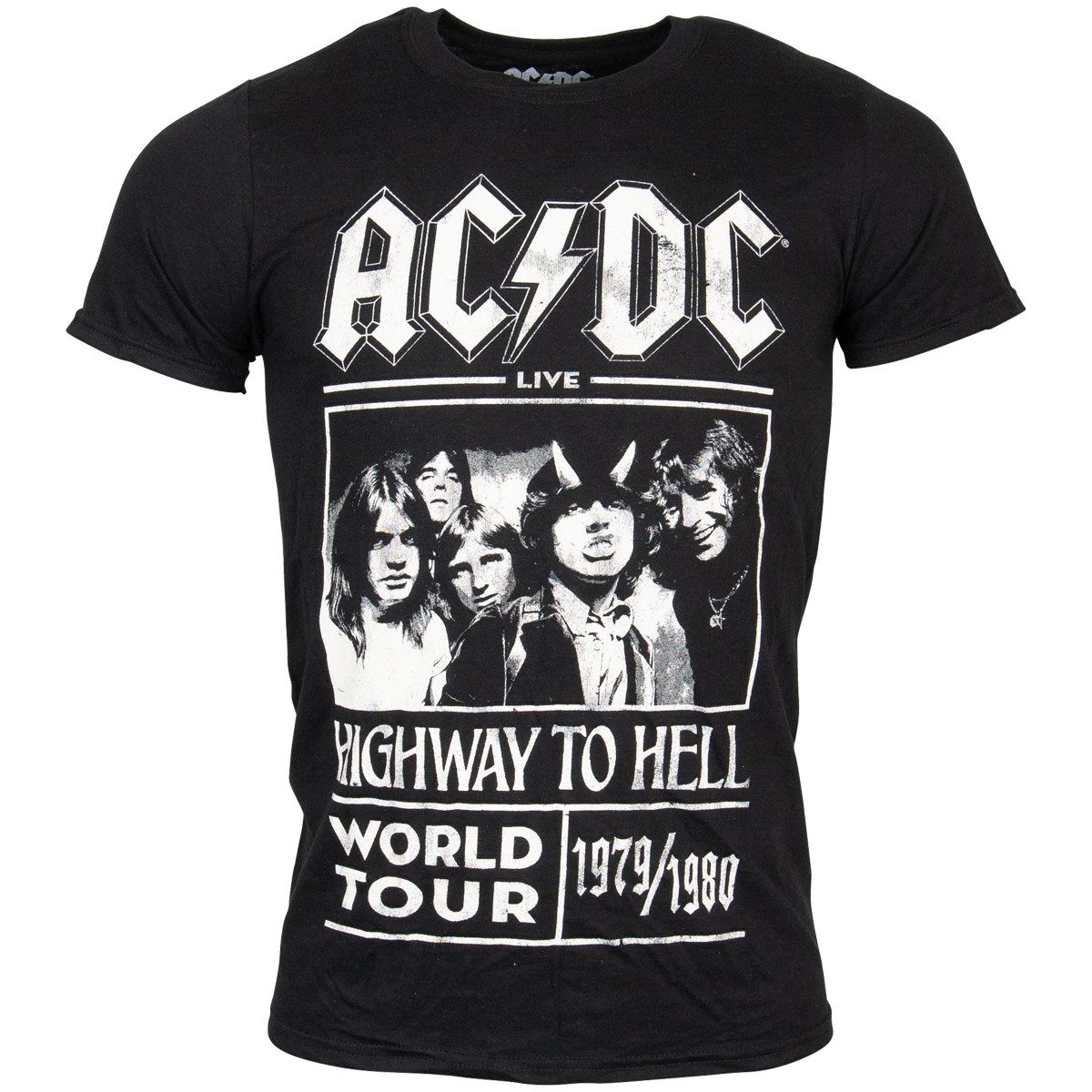 AC/DC - T-Shirt Highway to Hell World Tour - schwarz