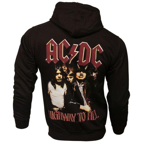 AC/DC - Kapuzenjacke Highway To Hell - schwarz