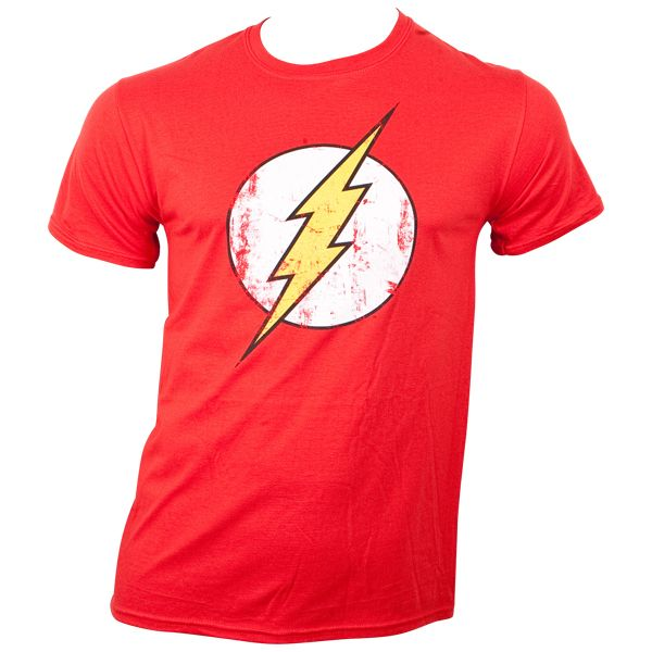 The Flash - T-Shirt Logo - rot