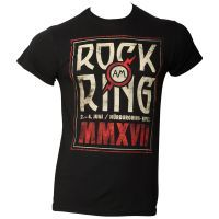 Offizielles Rock am Ring 2017 - T-Shirt Logo - schwarz / limitiert