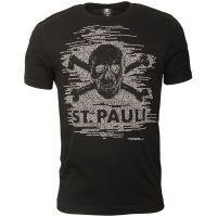 FC St. Pauli - T-Shirt TK Freude Schwarz-Hellgrau