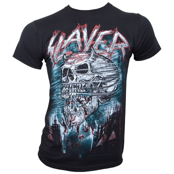 Slayer - T-Shirt Demon Storm - schwarz