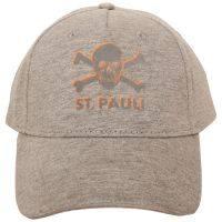FC St. Pauli - Cap Hot Orange - grau