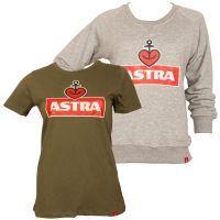 Astra - Damen Set Logo-Astra - grau, oliv