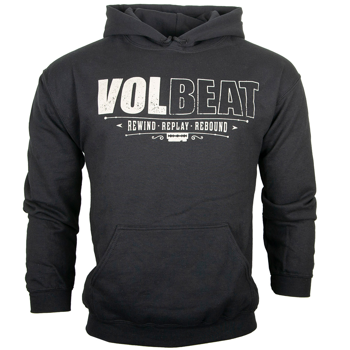 Volbeat - Kapuzenpullover - Rewind Replay Rebound - schwarz