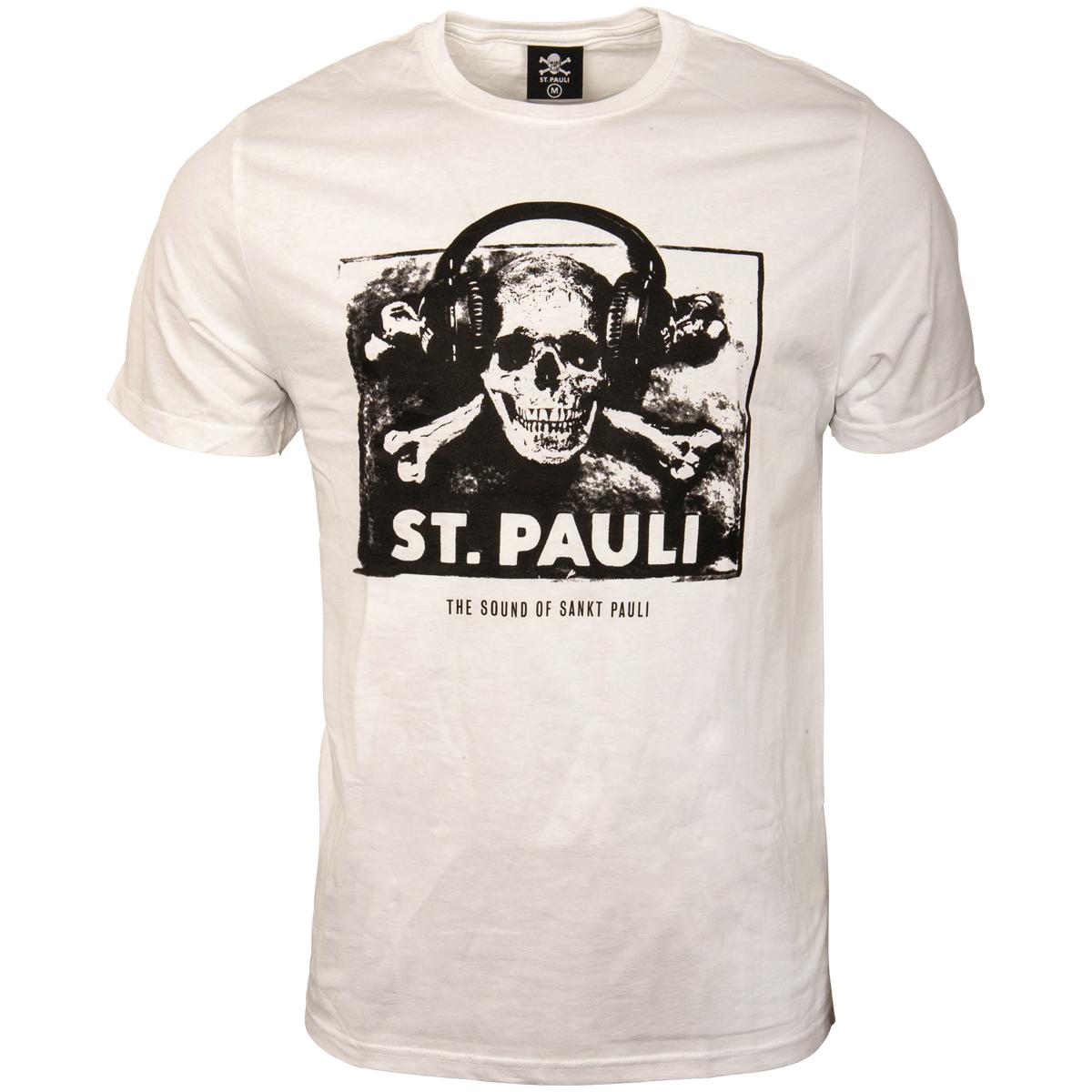 FC St. Pauli - T-Shirt Sound - weiß