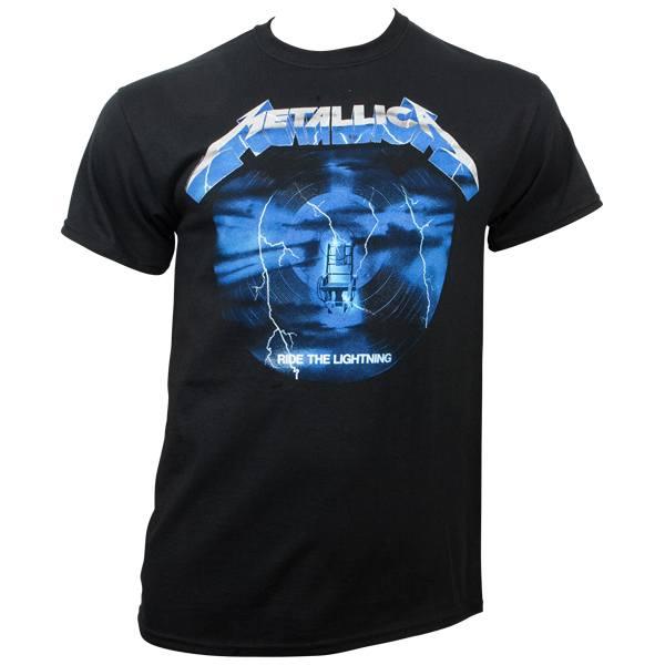 Metallica - T- Shirt Ride The Lightning 3 - schwarz