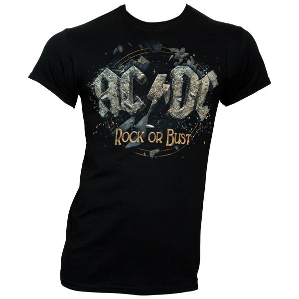 AC/DC - T-Shirt Rock Or Bust - schwarz