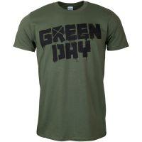 Green Day - T-Shirt 21st Century Breakdown - grün