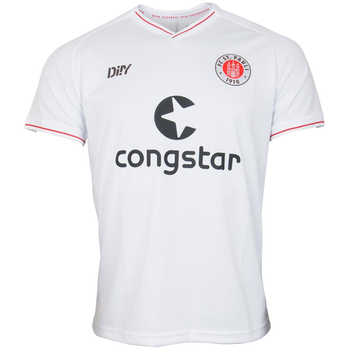 FC St. Pauli - Trikot Auswärts 2021-22 - weiß