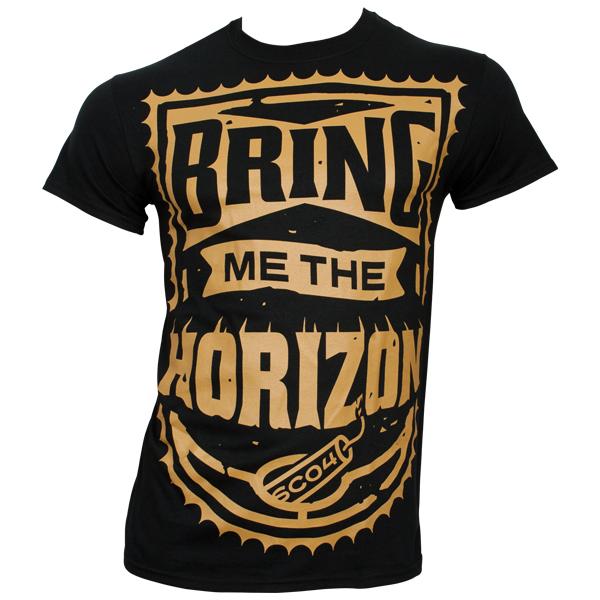 Bring Me The Horizon - T-Shirt Dynamite Shield - schwarz