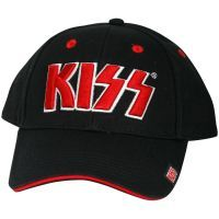 KISS - Baseball Cap Logo - schwarz