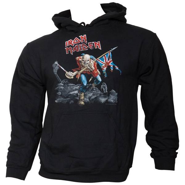 Iron Maiden - Kapuzenpullover The Trooper - schwarz