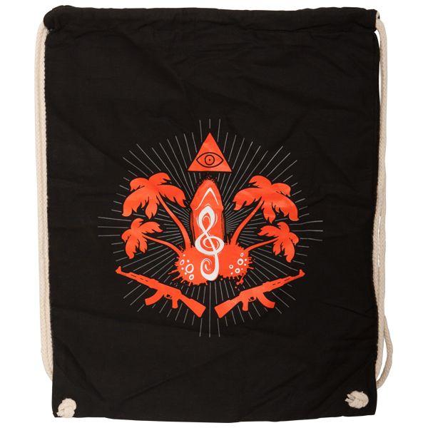 K.I.Z - Gym Bag Taka Tuka Ultras - black  1e8136aad7ead