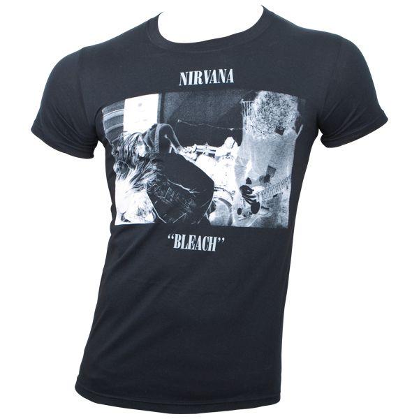Nirvana - T-Shirt Bleach - schwarz