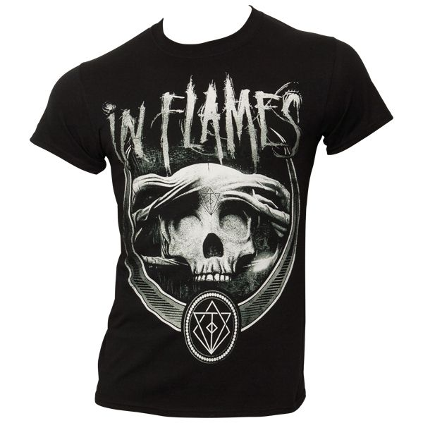 In Flames - T-Shirt Battles Badge - schwarz