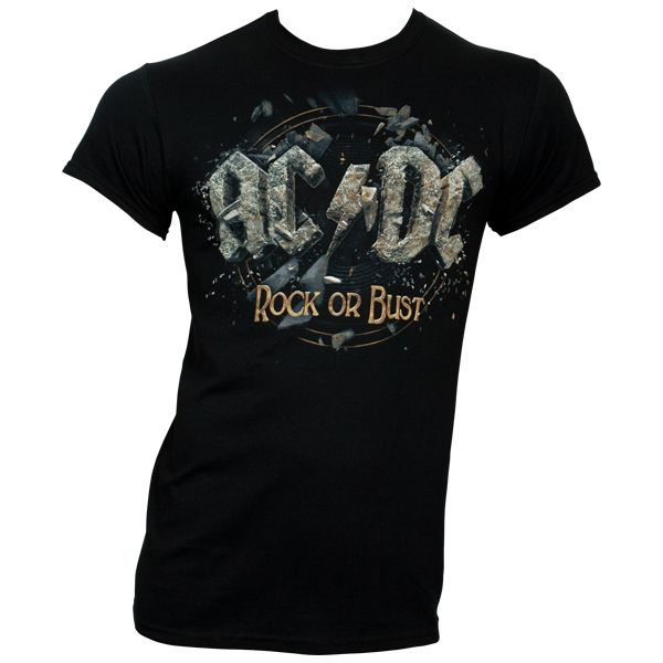 AC/DC - T-Shirt Rock Or Bust - schwarz