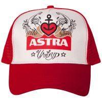 Astra - Trucker-Cap Urtyp - rot/weiß