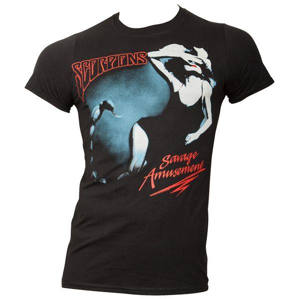 Scorpions - T-Shirt Savage Amusement - schwarz