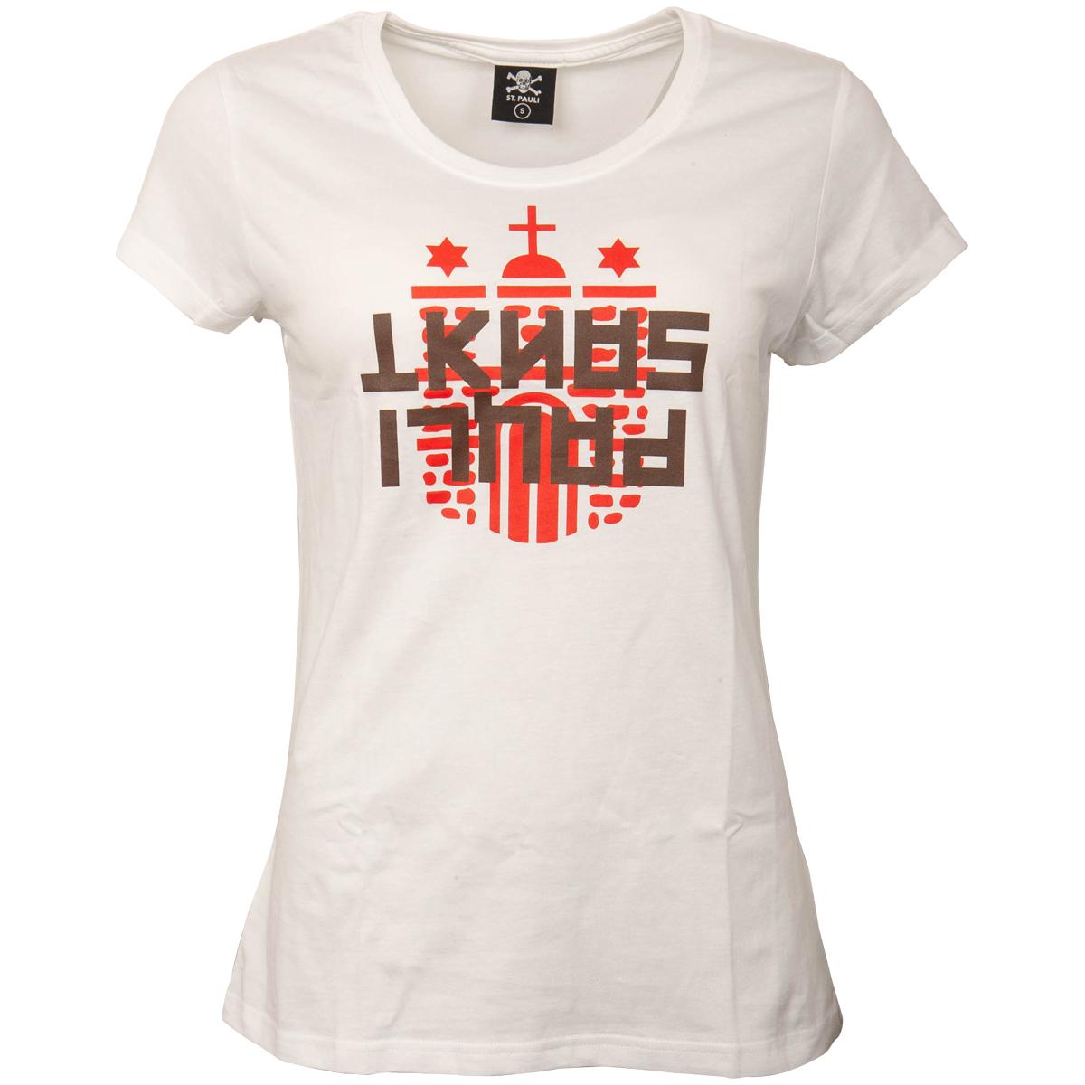 FC St. Pauli - Damen T-Shirt Hamma - weiß