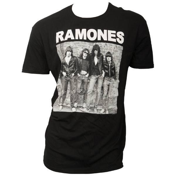 Ramones - T-Shirt Cover 1st Album - schwarz