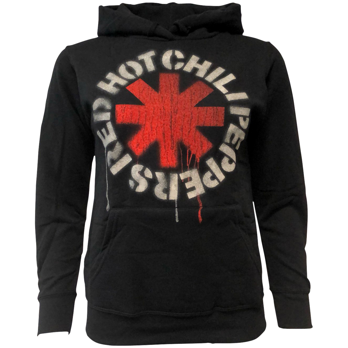 Red Hot Chili Peppers - Damen Kapuzenpullover Asterisks - schwarz