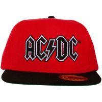 AC/DC - Cap Black Logo - rot