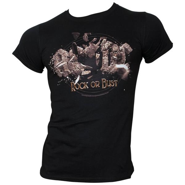 AC/DC - T-Shirt Rock Or Bust Explosion - schwarz