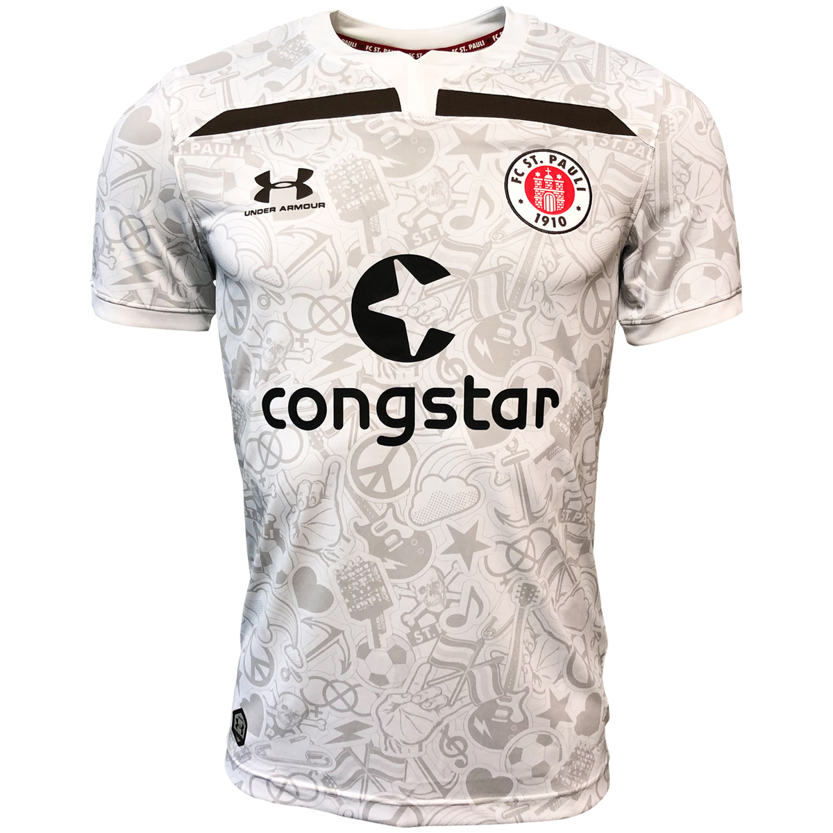 Image result for fc st pauli away shirt