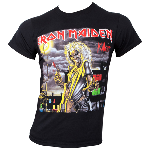 Iron Maiden - T-Shirt Killers Cover - schwarz
