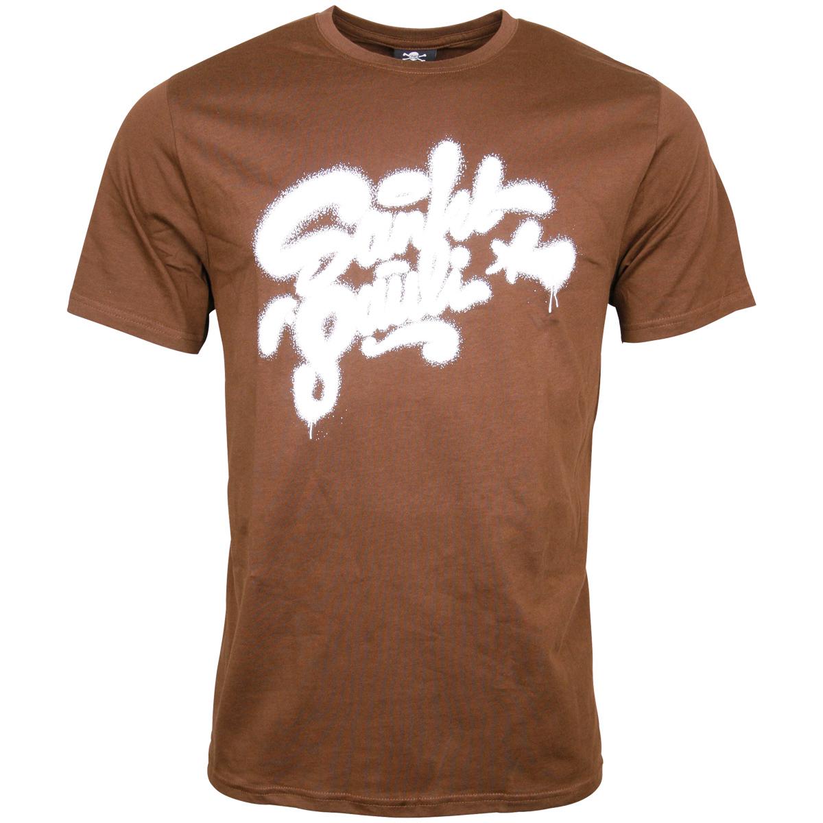 FC St. Pauli - T-Shirt Tag - braun